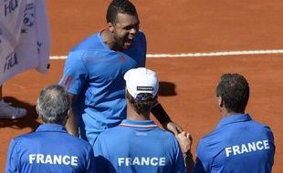 Jo-Wilfried Tsonga avait donné le premier point à la France en dominant Carlos Berlocq, 7e mondial, au terme d'un match de 4 heures (4-6, 6-2, 6-3, 5-7, 6-2).