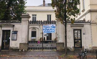 La clinique du Parc, rue Paule-Bellamy à Nantes.