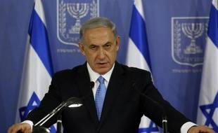 Le Premier ministre israélien, Benjamin Netanyahu, le 2 août 2014 à Tel Aviv