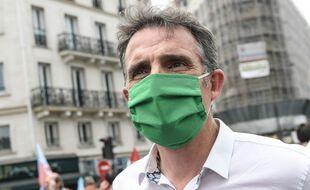 Le maire EELV de Grenoble, Eric Piolle, à Paris le 12 juin 2021.