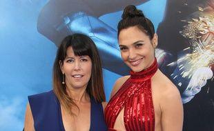 La réalisatrice Patty Jenkins et l'actrice Gal Gadot