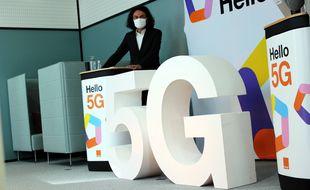 Pierre Jacobs, directeur d'Orange Ouest, ici lors du lancement de la 5G à Rennes, le 30 mars 2021.