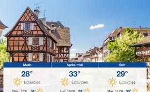 Météo Strasbourg: Prévisions du samedi 8 août 2020