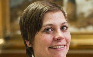 Audrey Linkenheld, le 10 février 2009.