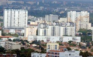 Des immeubles du quartier du Mirail, à Toulouse, le 17 septembre 2012.