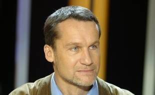L'écrivain Andreï Makine sur le plateau de «Vol de nuit» en janvier 2015