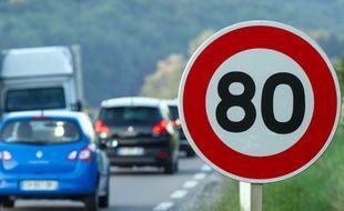 La limitation de vitesse à 80 km/h semble impopulaire auprès des automobilistes Français.