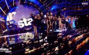 Capture d'écran du plateau de Danse avec les Stars.