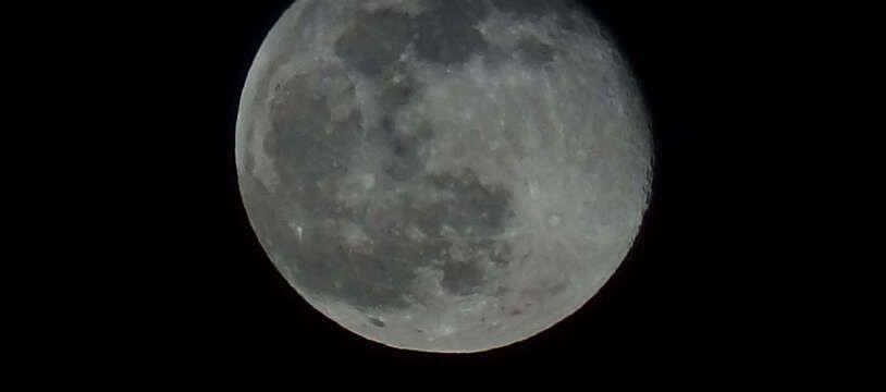 La Lune le 28 février 2021.