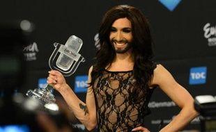 Conchita Wurst remporte l'Eurovision le 10 mai 2014 à Copenhague