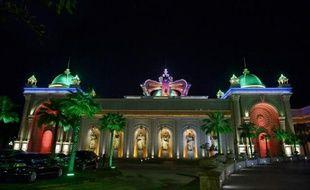 Un casino à Ton Pheung, une zone économique spéciale au nord-ouest du Laos, le 8 avril 2015