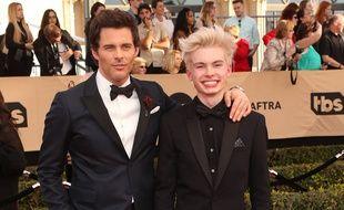 L'acteur James Marsden et son fils Jack