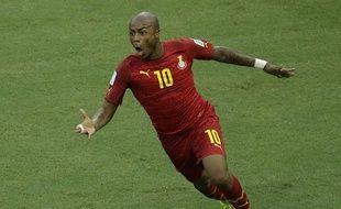 André Ayew sera à la pointe de l'attaque du Ghana