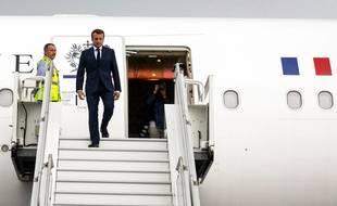 Après la Réunion il y a dix jours, le président Macron arrive en Chine ce lundi.