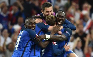 Les joueurs de l'équipe de France à Marseille, le 7 juillet 2016.