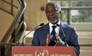 """L'émissaire international Kofi Annan a estimé mardi devant le Conseil de sécurité de l'ONU que son plan de sortie de crise était sans doute """"la dernière chance"""" d'éviter la guerre civile en Syrie, malgré les nombreuses violations du cessez-le-feu."""