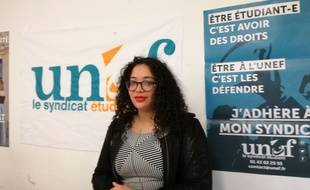 Mélanie Luce, la prochaine présidente de l'Unef.