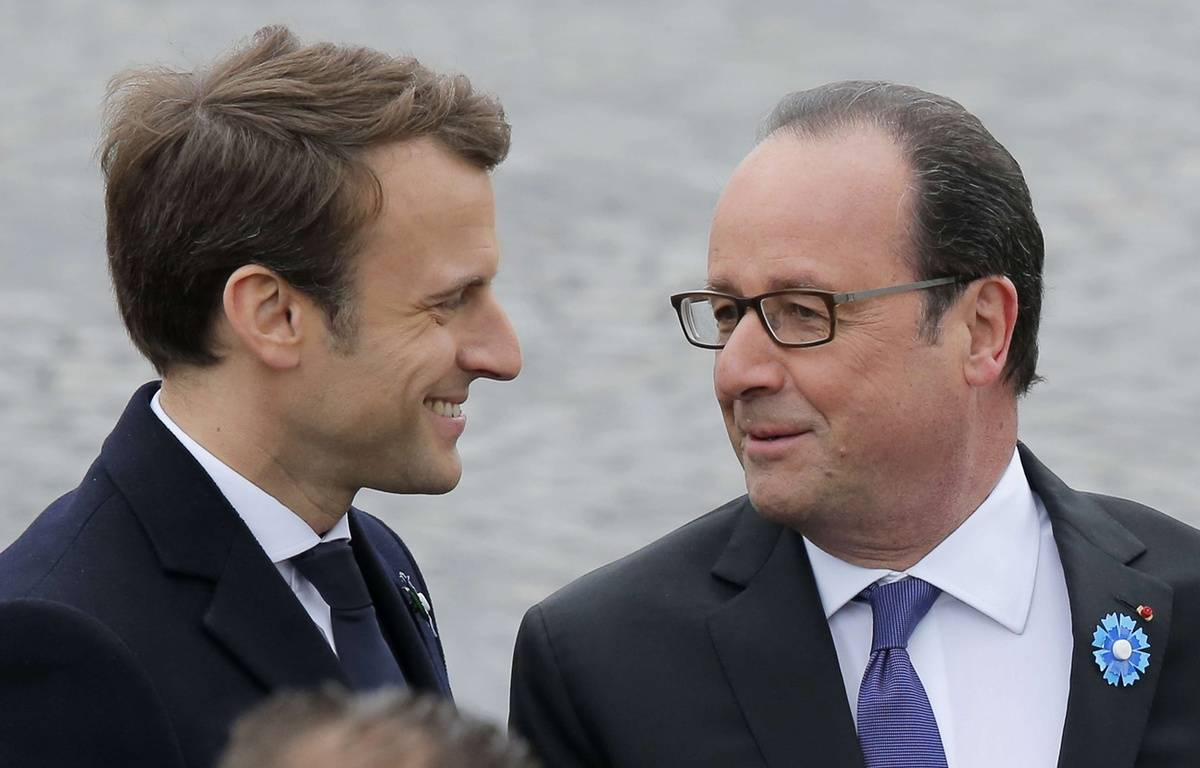 François Hollande peut se targuer d'avoir «lancé» plusieurs membres du nouvel appareil gouvernemental  –  Michel Euler/AP/SIPA