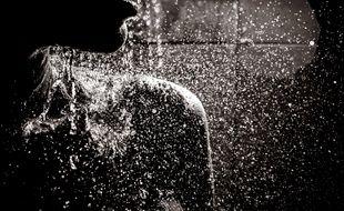 """""""Ainsi, tous les jours, quelqu'un m'observait prendre ma douche."""""""