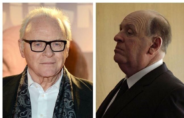 Anthony Hopkins en 2012 et dans «Hitchcock».