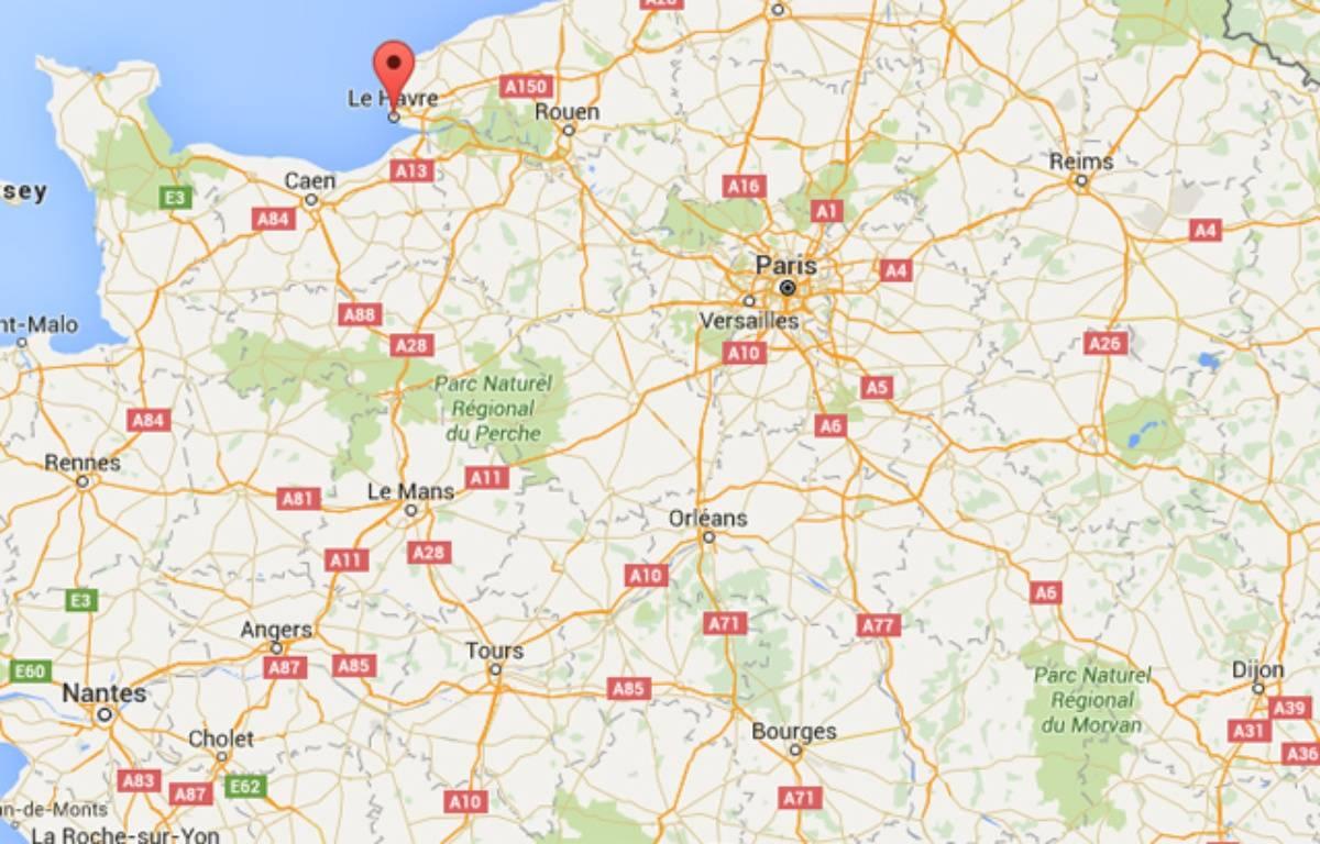 Le Havre. Capture Google maps – Capture Google Maps