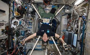 Thomas Pesquet prend quelques centimètres dans l'espace