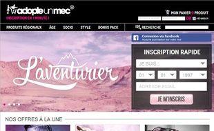 rencomtre adopteunmec site mobile