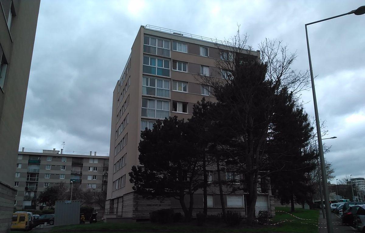 Garges, le 20 mars 2017. Dans un de ces immeubles, Zyed ben Belkacem avait élu domicile. – C.an