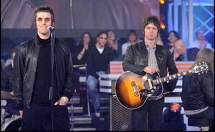 Les frères Noel et Liam Gallagher