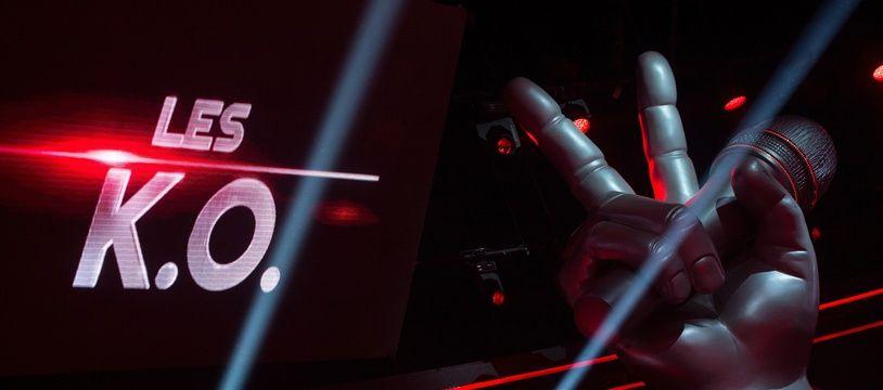 Le plateau de «The Voice» à l'heure de l'épreuve des K.O.