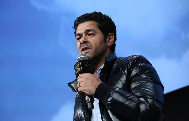 Jamel Debbouze at the Alpe d'Huez in January 2016
