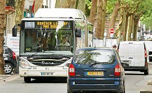 Des bus n'ont pas circulé vendredi.