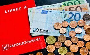 Le Livret A reste le chouchou des Français, qui étaient 81,5% à en détenir un à fin 2020, avec un encours moyen de 5.500 euros (+400 euros par rapport à fin 2019). (Illustration)