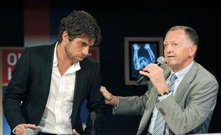 En mai 2009, Jean-Michel Aulas avait organisé une conférence de presse pour le départ de Juninho. Dix ans plus tard, le Brésilien est de retour à Lyon comme directeur sportif.