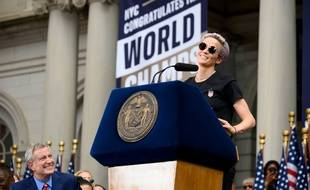 Megan Rapinoe, le 10 juillet 2019 à New York.