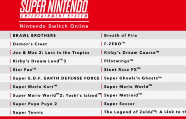 Nintendo va commercialiser une manette SNES pour sa Switch