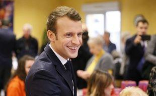 Emmanuel Macron était en déplacement dans la Drome ce jeudi.