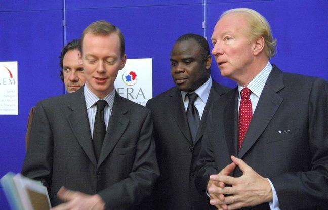 Basile Boli à l'UMP en 2007.