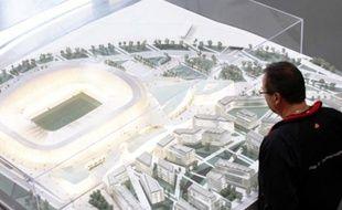 La maquette est exposée jusqu'au 29 novembre au forum d'urbanisme, dans le Vieux Nice.