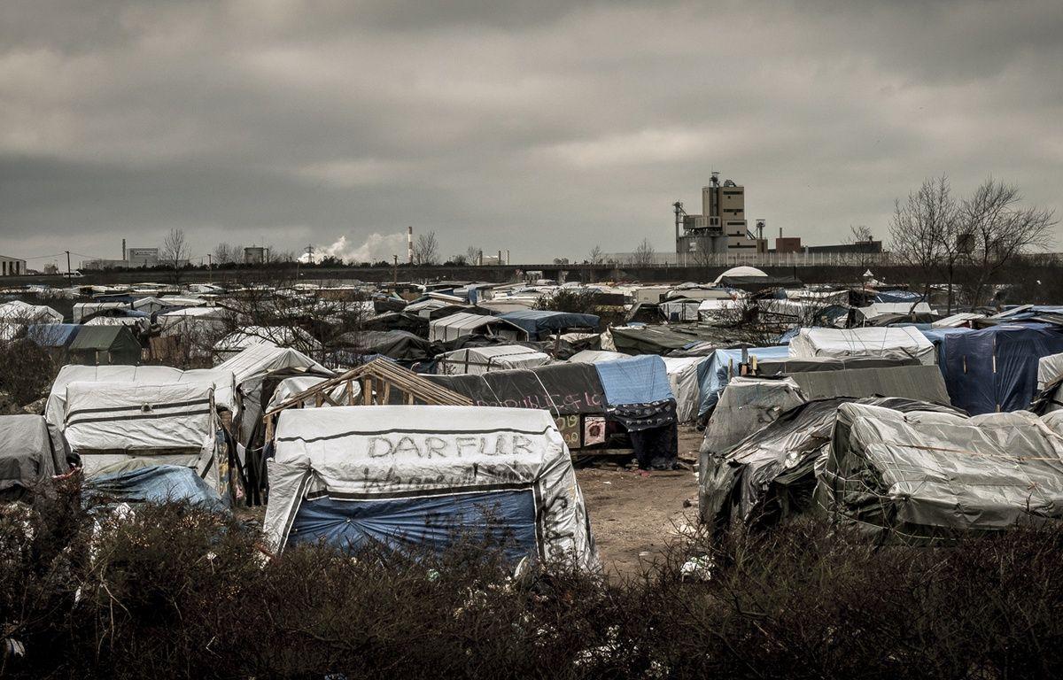 La «Jungle» de Calais, le 12 février 2016. – PHILIPPE HUGUEN / AFP