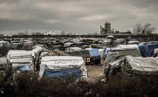 La «Jungle» de Calais, le 12 février 2016.