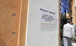 La mosquée d'Istres a reçu des tirs, dimanche 25avril 2010.