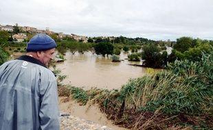 Les inondations dans l'Aude ont provoqué de gros dégâts dans la région de Carcassonne.
