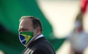 Le ministre de la Santé du Brésil, Eduardo Pazuello, le 9 juin 2020 à Brasilia.
