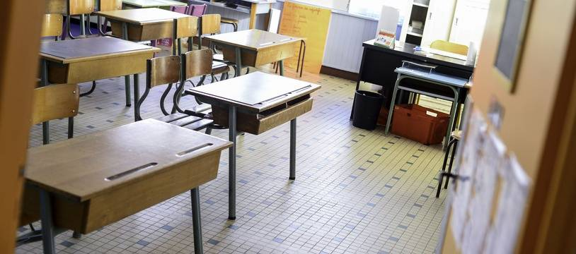 Une école à Rennes (illustration).