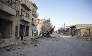 Dix personnes, dont sept enfants, ont été tués ce dimanche à Alep