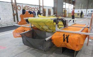 Toulouse Clean-up, le récupérateur de déchets flottants inventé par des jeunes Toulousains.