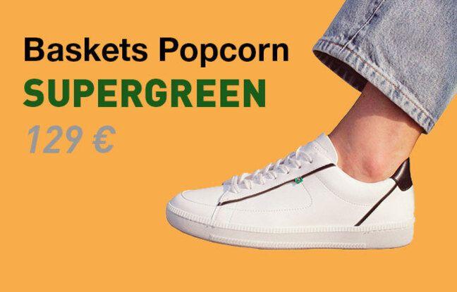 Baskets Popcorn de Supergreen