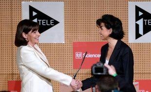 Anne Hidalgo et Rachida Dati se sont affrontées mercredi pour le premier débat de la campagne des élections municipales parisiennes, dans un duel courtois qui a permis à la première de défendre son bilan et d'avancer des propositions, notamment sur le logement et la pollution.