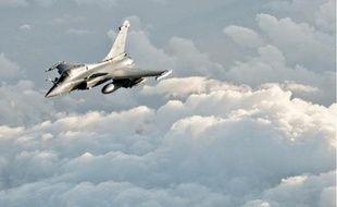 Une vingtaine d'avions français ont mené des missions en Libye, hier.
